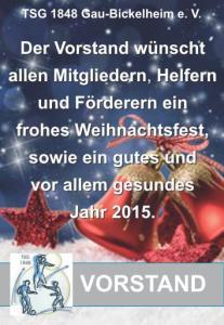 Vorstand Weihnachten Gau-Bickelheim